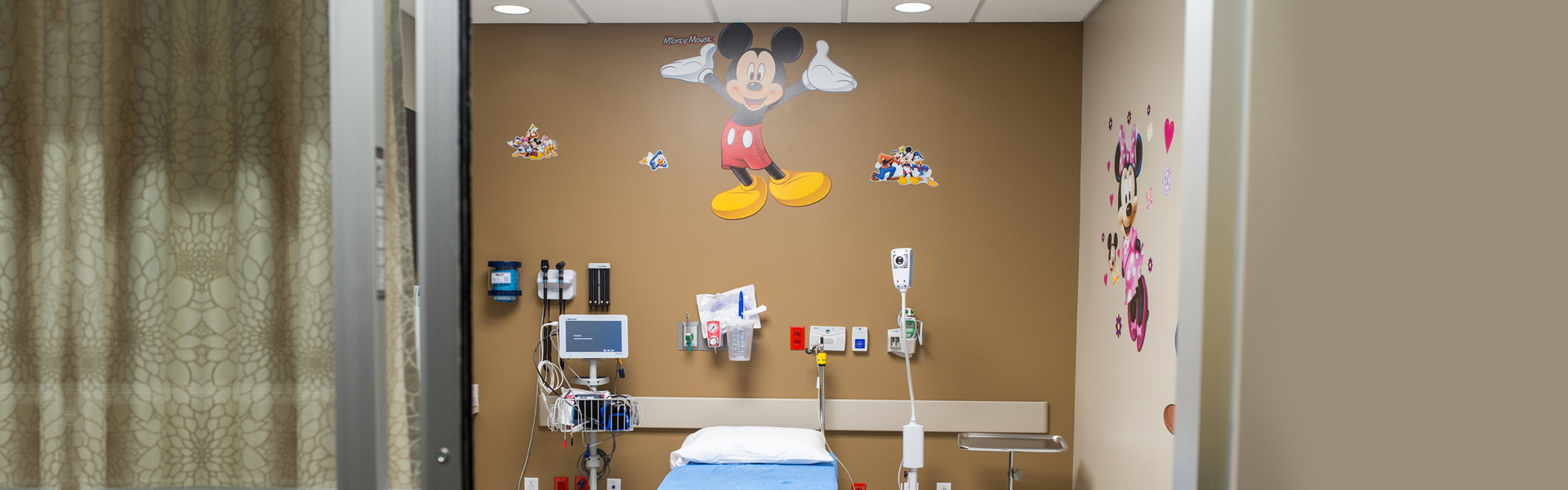 pediatric emergency care closer view