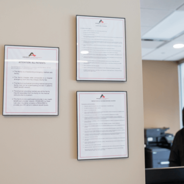 Ascenter Er Certification Wall